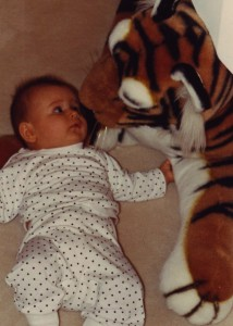 Sophie and the tiger